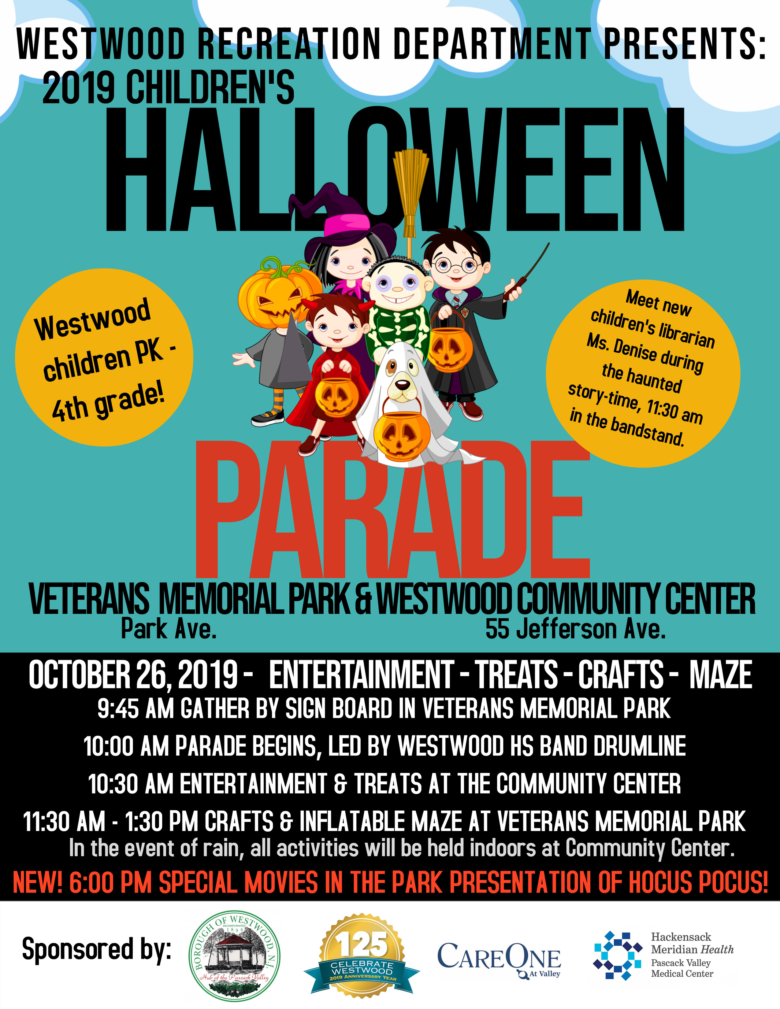 2019_ChildrensHalloweenParadeFlyer