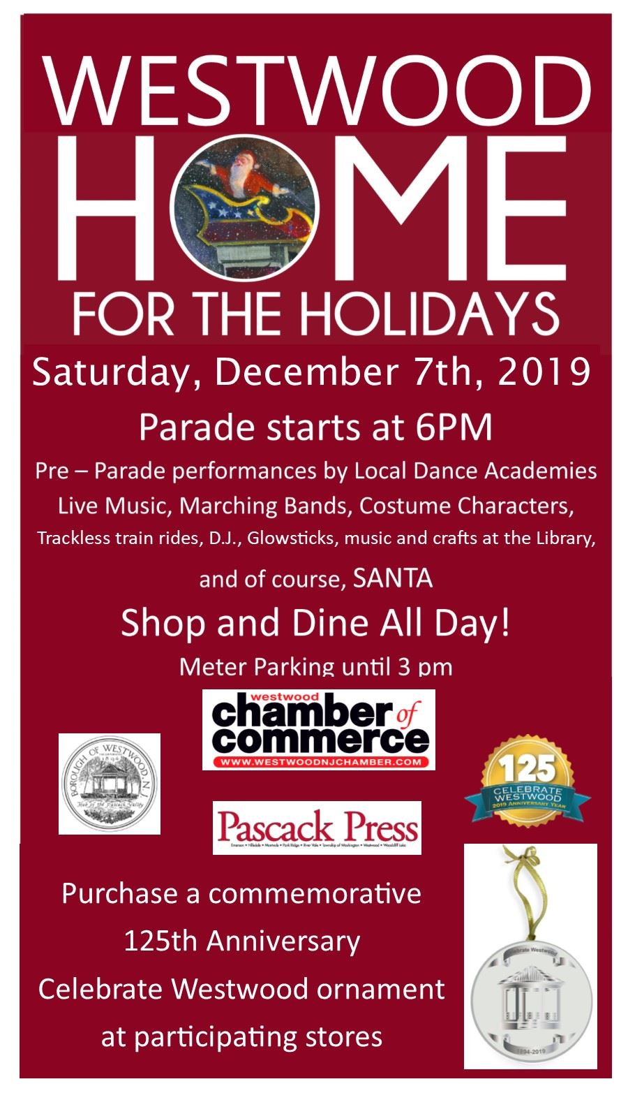 Westwood Chamber of Commerce_ Home for the Holidays_2019